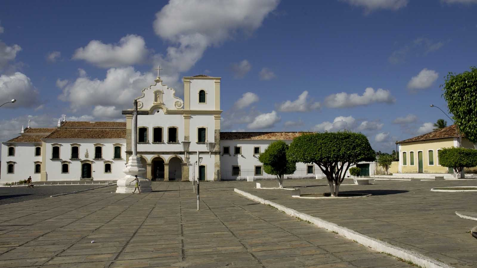 The old, colonial city of Sao Cristovao
