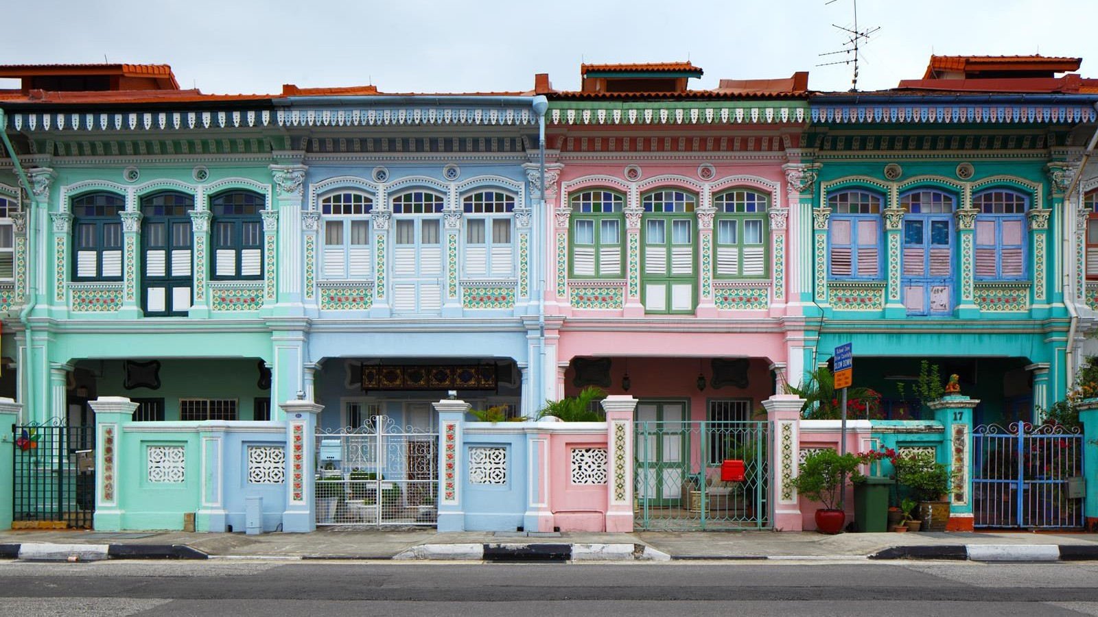 Shop house in Singapore