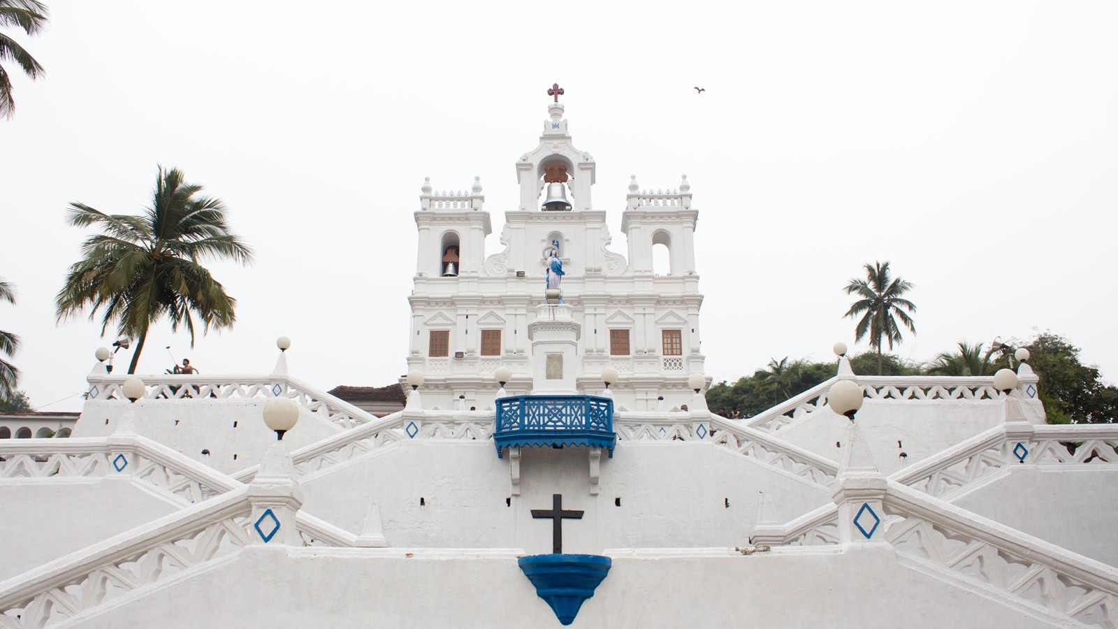 Church of Our Lady of the Immaculate Conception in Panaji, goa, india
