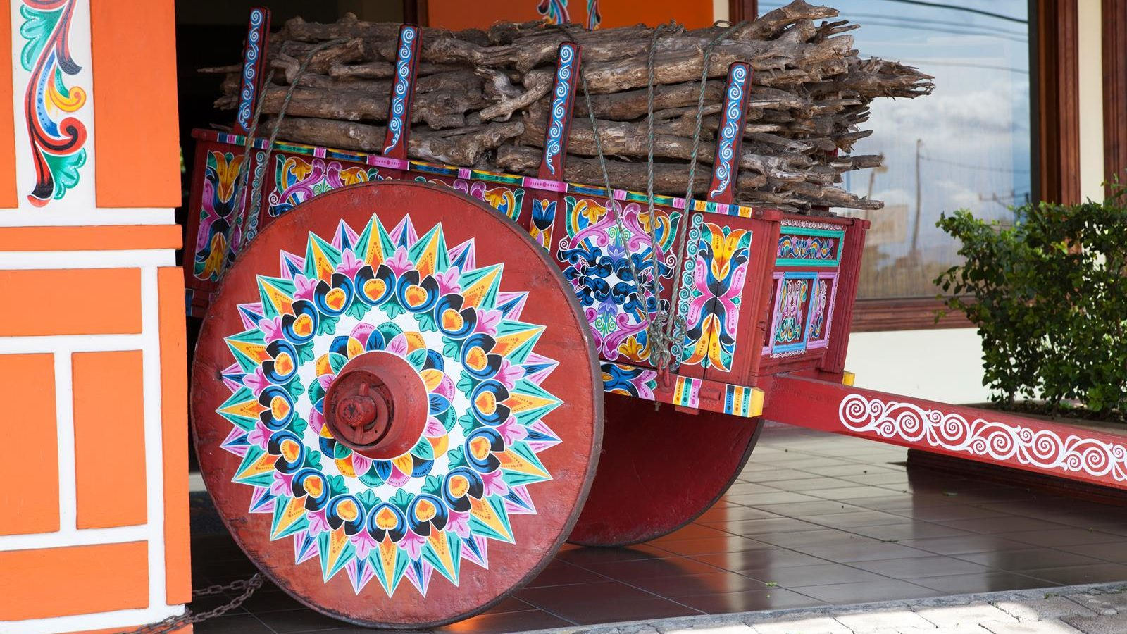 Sarchi, Costa Rica: the typical oxcart