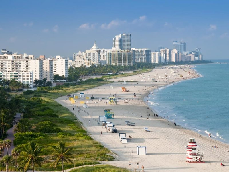 Miami, naturaleza y playa en privado